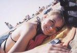Hiding on a beach...