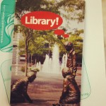 (My Library! card is so cool. It's the coolest.)